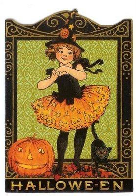 Vintage হ্যালোইন Cards