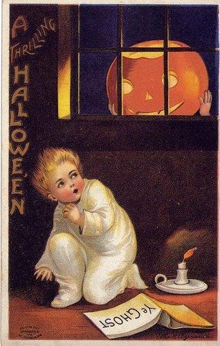 Vintage 万圣节前夕 Cards
