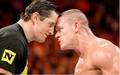 Wade Barrett and John Cena