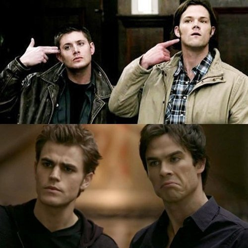 http://images4.fanpop.com/image/photos/16300000/Winchester-vs-Salvatore-LOL-supernatural-and-the-vampire-diaries-16385301-500-500.jpg