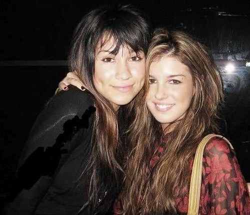 Shenae Grimes wallpaper possibly containing a portrait titled With family and friends.