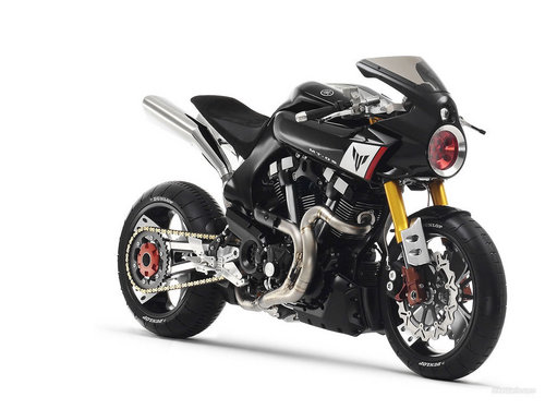 YAMAHA MT-OS CONCEPT wallpaper probably with a motorcycling, a motorcycle policeman, and a bike in The Motorcycles Club