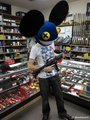 deadmau5 with a gun - deadmau5 photo