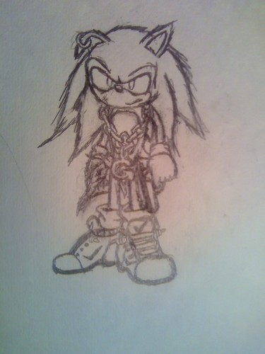 Sonic X wallpaper called gangsta sonic 2