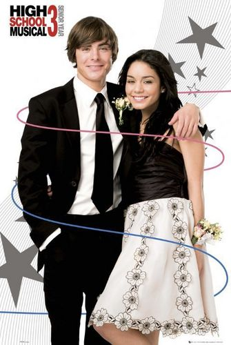 High School Musical 3 wallpaper probably with a bridesmaid and a business suit titled hsm