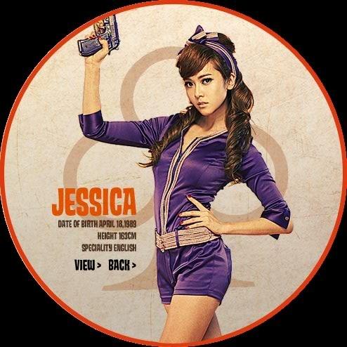 snsd girls generation album. jessica-SNSD 3rd Mini Album