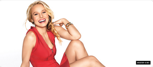 Kristen Bell wallpaper called outtakes from Shape shoot