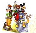 recoded artwork - kingdom-hearts-coded photo