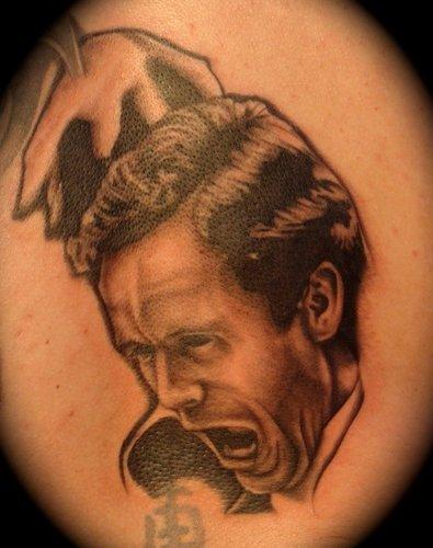 Serial Killers Hintergrund titled serial killer tattoo