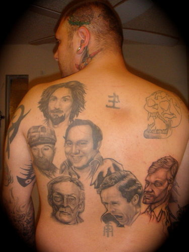 Serial killers images serial killer tattoos hd wallpaper for Charles manson tattoos