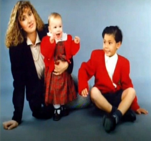 small and cute rafa nadal !! red is hot !!!