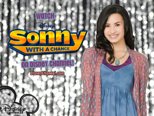Sonny With A Chance پیپر وال probably with a blouse, a top, and an outerwear titled sonny