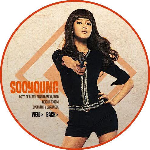 sooyoung-SNSD 3rd mini album Hoot