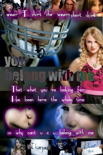 u belong with me