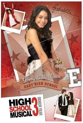 High School Musical 3 wallpaper with a portrait titled vanessa