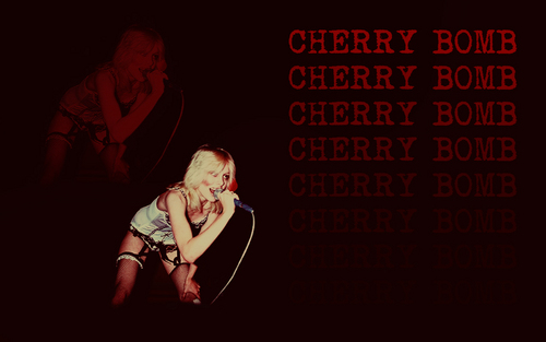 'Cherry Bomb' Wallpaper