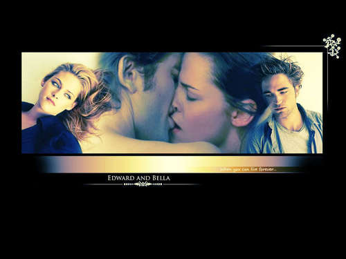 *~-.,.-~*Edward&amp;Bella*~-.,.-~* - edward-and-bella Wallpaper