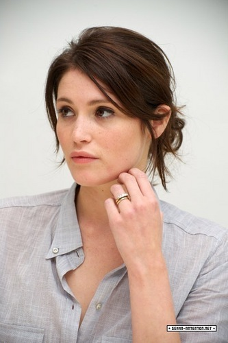 "Gemma Arterton wallpaper containing a portrait called ""Tamara Drewe"" Press Conference"