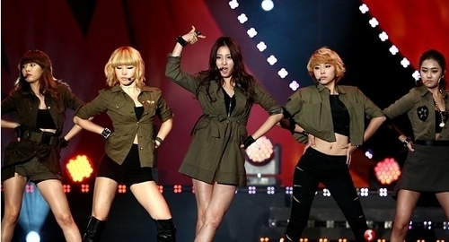 4Minute at Aisa song festival