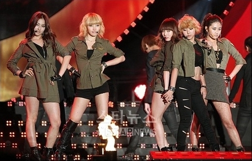 4Minute at Asia song festival