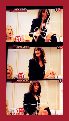 Lea Michele and Dianna Agron wallpaper titled Achele GQ Magazine - November 2010