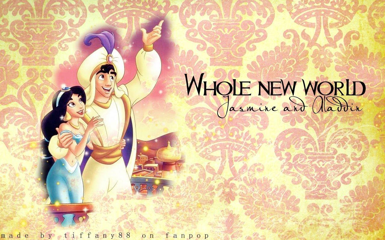 aladdin and jasmim