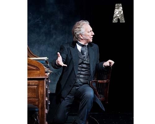 Alan in theatre - John Gabriel Borkman - Dublin 2010