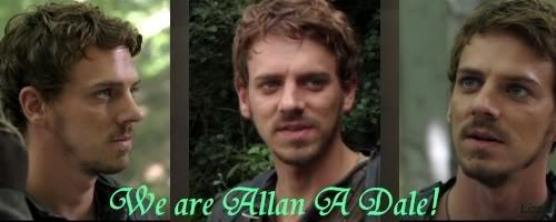 Robin Hood wallpaper with a portrait called Allan