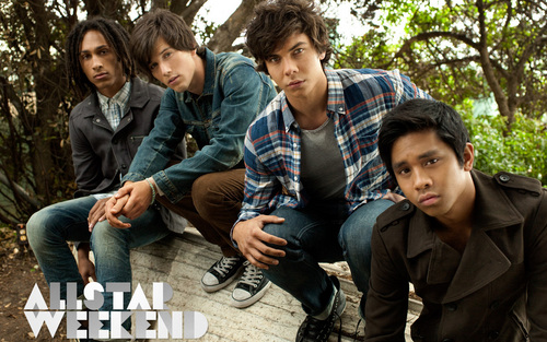 Allstar Weekend wallpaper probably with a street and a mulch entitled Allstar Weekend - Suddenly Yours