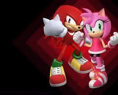 Amy and Knuckles