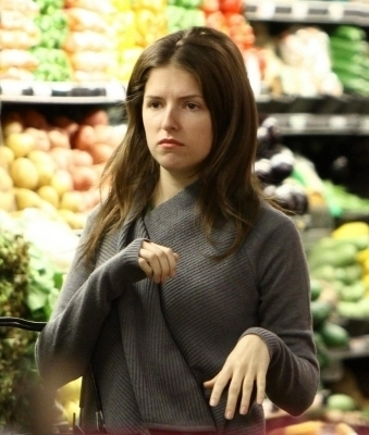 Anna Kendrick shopping in Bervely Hills