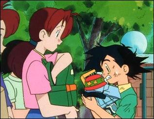 Ash with Mama-San