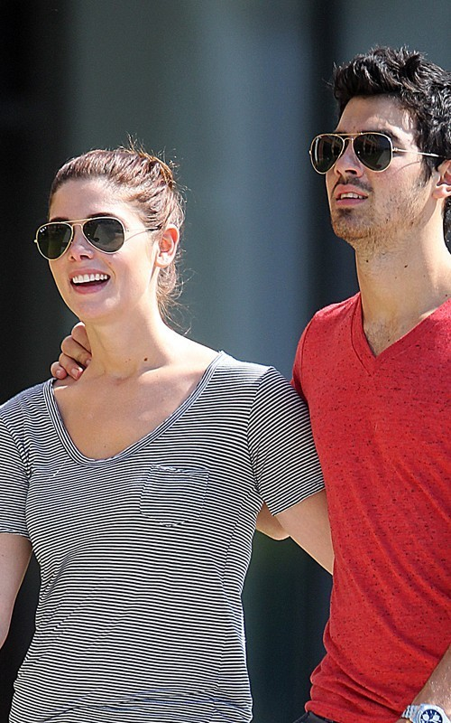 Ashley Greene and Joe Jonas in Baton Rouge