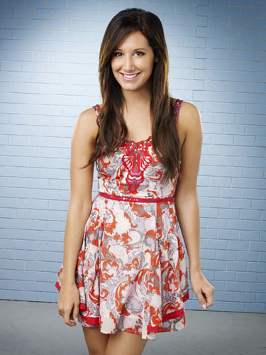 Ashley tisdale brown hair