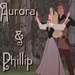 Aurora and Phillip <3