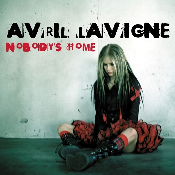 Avril Lavigne - Nobody's Home [My FanMade Single Cover]