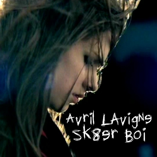 Avril Lavigne - Sk8er Boi [My FanMade Single Cover]