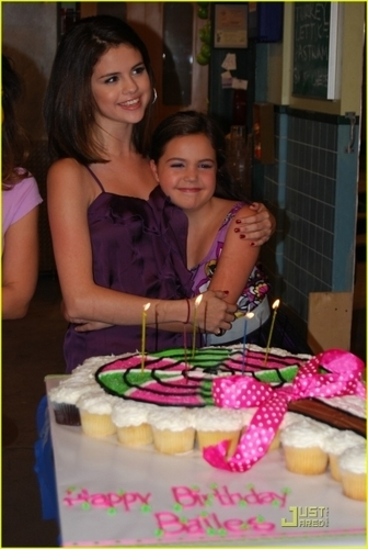 Bailee Celebrating her Birthday at WOWP set