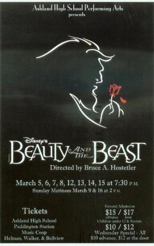 Beauty And The Beast Theatrical Poster