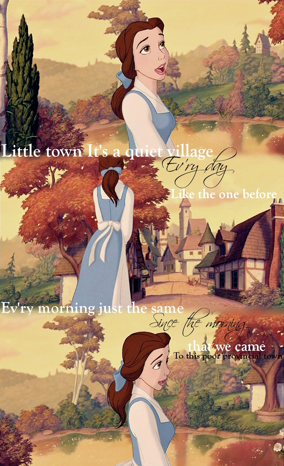 beauty and the beast lockscreens | Tumblr