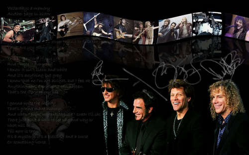 Bon Jovi wallpaper containing a business suit entitled Bon jovi