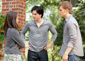 Bonnie,Damon and stefan