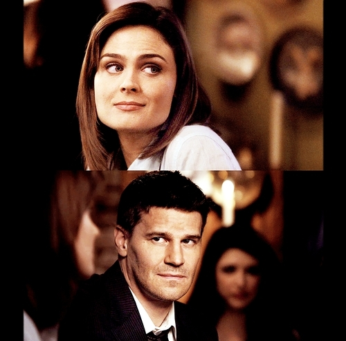 Seeley Booth achtergrond with a business suit, a suit, and a dress suit titled Booth & Bones