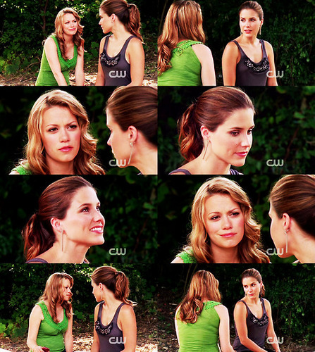 Brooke and Haley wallpaper containing a portrait called Braley