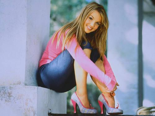Britney kertas-kertas dinding