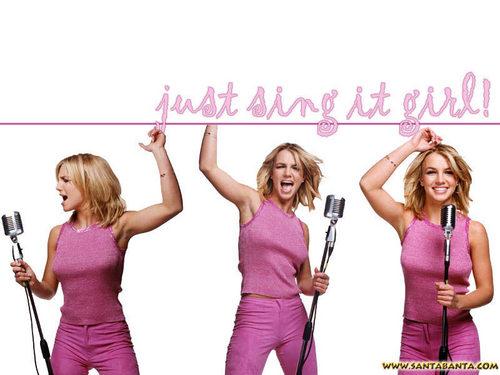 Britney پیپر وال