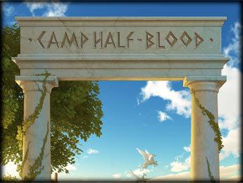 Camp Half-blood(designed sa pamamagitan ng Annabeth)