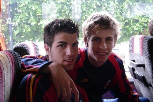 Cescy and Geri - gerard-and-cesc Photo
