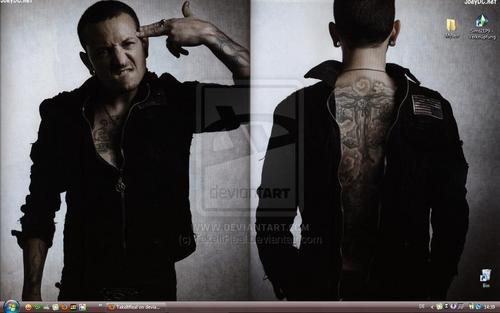Chester Bennington wallpaper entitled Chazy