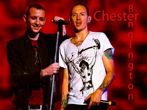 Chester Bennington wallpaper containing a concert titled CheZ